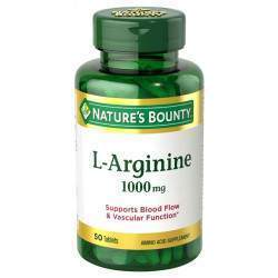 Nature's Bounty L-Arginine 1000mg 50Caps