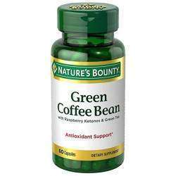 Nature's Bounty Green Coffe Bean with Raspberry 60 Capsulas